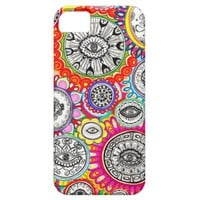 Psychedelic Eyes Art iPhone 5 Case by Case-Mate iPhone 5 Case from Zazzle.com