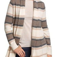 Women&#x27;s Fair Isle-Stripe Cardis | Old Navy
