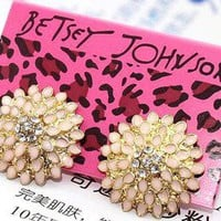 New Betsey Johnson Stud Earrings Gift B9