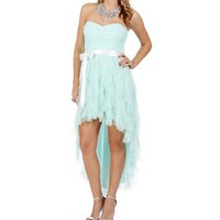 Annette- Mint Prom Dress