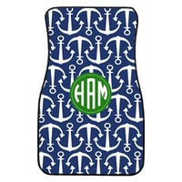 Personalized Car Floor Mats for Front - SET of 2