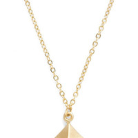Pyramid Thought Necklace | Mod Retro Vintage Necklaces | ModCloth.com