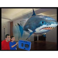 Amazon.com: Air Swimmer Remote Control Inflatable Flying Shark: Toys & Games