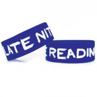 Late Nite Reading Wristband (Blue)