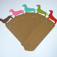 Dachshund Bookmarks - Set of 10