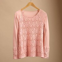 VERY LACEY TEE