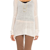 Gauze Sweater - 2020AVE
