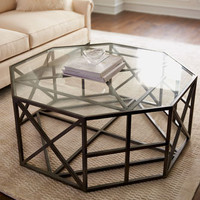 Octagon Coffee Table - Horchow