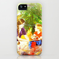 Our Christmas iPhone Case by Vargamari | Society6