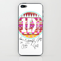one direction swag iPhone &amp; iPod Skin by Taylor St. Claire | Society6