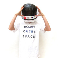 OCCUPY OUTER SPACE Tee Shirt. Unisex.