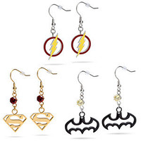 Superhero Dangle Earrings