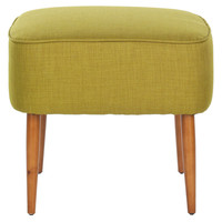 One Kings Lane - The Chic Boutique - Blake Ottoman, Ochre