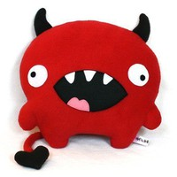 Love Devil red plush designer toy