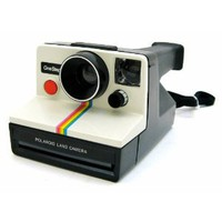 Amazon.com: Polaroid OneStep SX-70 White/Rainbow Camera: Camera &amp; Photo