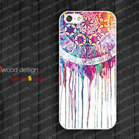 NEW iphone 5 case dream catcher iphone 5 cover colorized unique design printing atwoodting design