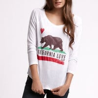 Billabong Cali Bear Raglan Tee at PacSun.com