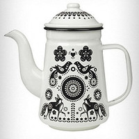Folklore Enamel Tea/Coffee Pot