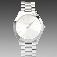 Michael Kors Slim Classic Watch in Silver from REVOLVEclothing.com