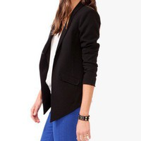 Pointed Hem Jacket