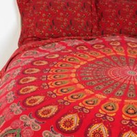 UrbanOutfitters.com &gt; Tapestry Medallion Sham - Set of 2