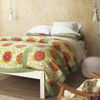 Poppy Field Quilt and Sham