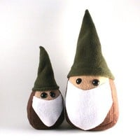 Miniature Gnome Plush Figglebottom or Huggleson Style