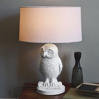 Owl Table Lamp by West Elm