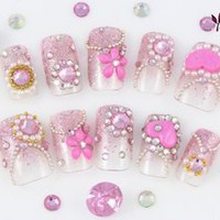 Kawaii Nails ? Sparkle Charms