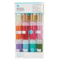 Amazon.com: Martha Stewart Crafts Glass Microbead Set, 12-Pack: Arts, Crafts & Sewing
