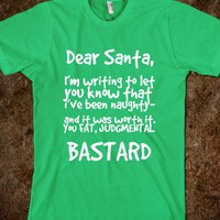 Dear Santa-I was Naughty - glamfoxx.com