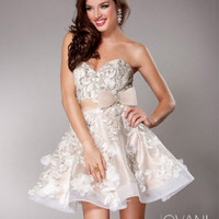 Floral Applique Dress, Style 2933