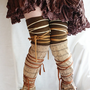 Leg Warmers Upcycled Woman&#x27;s Clothing MADE TO ORDER in your chosen color Eco Funky Style Shabby Chic Eco Friendly Style Upcycled Clothing