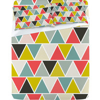 DENY Designs Home Accessories | Heather Dutton Triangulum Sheet Set