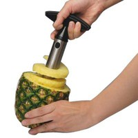 Easy Tool Stainless Steel Fruit Pineapple Corer Slicer Peeler Cut