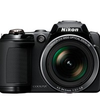 Nikon COOLPIX L120 14.1 MP Digital Camera with 21x NIKKOR Wide-Angle Optical Zoom Lens and 3-Inch LCD (Black) | www.deviazon.com