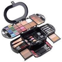Cameo Carry All Beauty Case by Shany  100pc Pro Make Up Set - Premium Collection