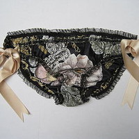 vintage silk limited edition knickers by flo-jo boutique | notonthehighstreet.com