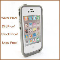 LifeProof Waterproof Case snowproof dirtproof iPhone 4 4S SIX COLOR for choice