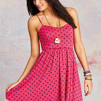 dELiAs > Natural Waist Dot Dress > dresses > view all dresses