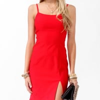 Spaghetti Strap Sheath Dress | FOREVER21 - 2000048879