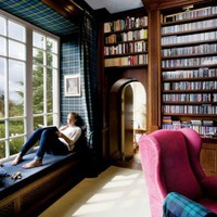 Libraries / i like everything about this room.