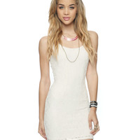 Paneled Lace Bodycon Dress | FOREVER21 - 2000046742