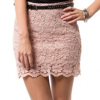 ADELE CROCHET SKIRT - BOTTOMS - WOMEN'S