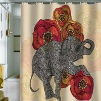 Amazon.com: DENY Designs Valentina Ramos Rosebud Shower Curtain, 69 by 72-Inch: Home & Kitchen