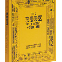 This Book Will Change Your Life | Mod Retro Vintage Books | ModCloth.com