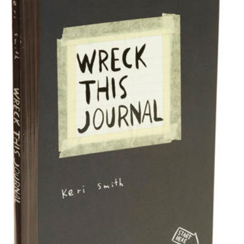 Wreck This Journal Book | Mod Retro Vintage Books | ModCloth.com