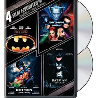 Batman Collection: Four Film Favorites (Batman / Batman Returns / Batman Forever / Batman &amp; Robin)