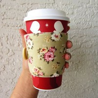 Floral Coffee Sleeve from Love What's Missing