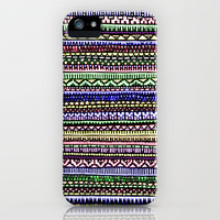 Black Pattern iPhone Case by lush tart | Society6